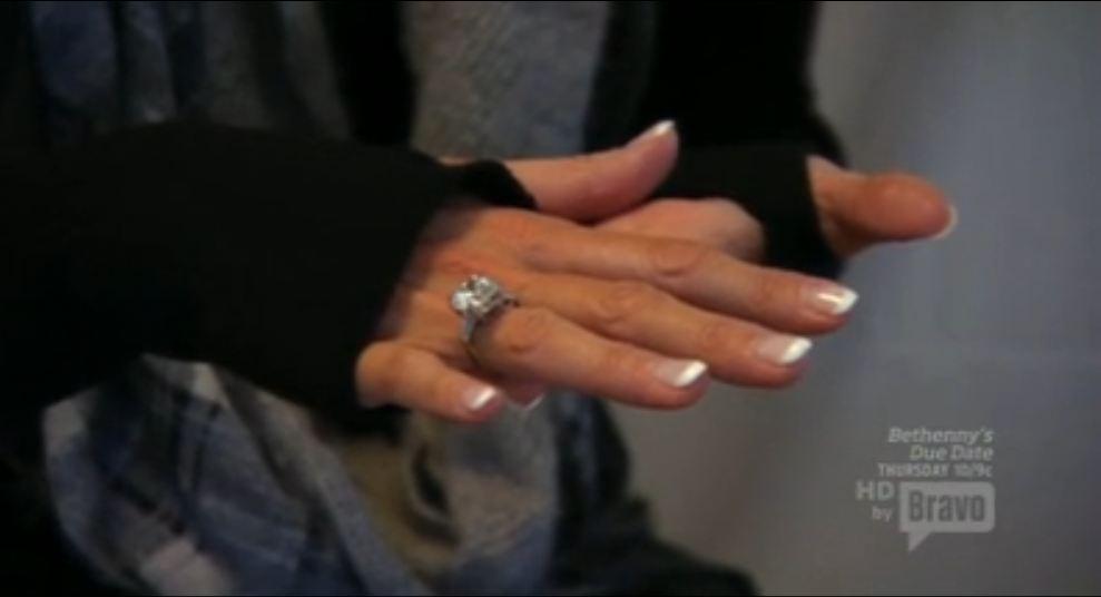 Lisa Vanderpump Engagement Ring